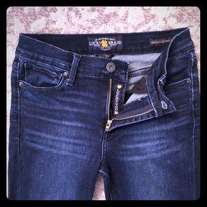 Lucky Brand Dark Blue Jeans, Size 26